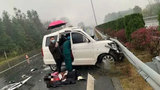 【广西】突发!桂林高速两车追尾 4人当场死亡6人受伤