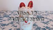 Vlog.13懒人必备早餐,隔夜燕麦酸奶杯,5分钟就搞定!
