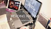 Reading with me/阅读/白噪音/背景音 在温暖的房间烤火看雪vol.1 lh