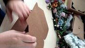 绿野包装 花艺手作 蝴蝶扣包装盒折叠方法