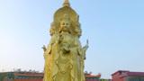 广东梅州最大的,四面观音像原来在这里,大慈大悲!