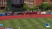 2017尤金女子200米:鲍维21.77、米勒21.91、汤普森21.98