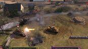 4V4--装甲大混战--(3克伦威尔+2馒头+2杰克逊+2 KV-8+KV-2+潘兴) 大战 ( 四号+三突+pak.40)