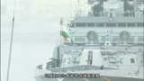 去年南海大阅兵让人眼前一亮,今年阅舰式的南昌舰更是鹤立鸡群!