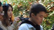 南京三江学院偶遇可爱小哥哥,小姐姐的问题让他脸红!