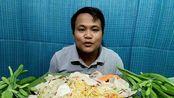 [Hagna]泰国吃播凉拌米粉