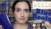 【Makeup just for fun】试色+测评 Stila新品节日系列Blue Realm眼影盘