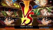 ドラゴンボール ファイターズ 世界1位ブロリーVSゴジータ フルパワーの強さ - YouTube