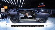 中国GAC概念车亮相底特律! Chinese automaker GAC shows off Entranze concept in Detroit