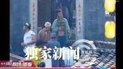 杨明娜演于正版黄蓉 穿戏服与助理热聊显亲和