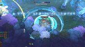 IMBA 萨尔:淡定,正常操作。 打六龙心敌人的萨尔技能伤害测试 dota2 英霸(IMBA) 10v10