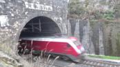 [火车][减速狂魔]HXD1D+25K[T248]成都东-武昌 襄渝铁路黄家湾隧道上行