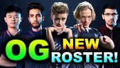 OG NEW ROSTER DEBUT! + SumaiL + MidOne + Saksa - ESL One Los Angeles 2020 DOTA 2