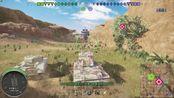 PS4战车世界,金币7级kv-2,刷新单发伤害记录,一炮打虎P982伤