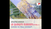 Vivaldi The Four Seasons Arr. For Four Harps&Piano Four Hands 竖琴与四手联弹版的四季