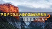 【壹周数码汇】苹果将汉化三大操作系统应用名称 雷劈是什么鬼?