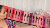 【试色】爆红Huda Beauty半哑光唇釉Demi Matte系列全部产品试色及测评