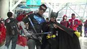 cosplay:女版蝙蝠侠好小一只,很可爱!