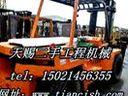 """【大型叉车卖场】大连二手8吨叉车市场报价O(∩_∩)O哈!""""二手合力10吨叉车价格表"""""""