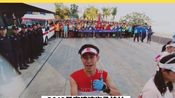 巽寮湾马拉松跑步采访