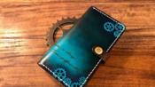 【皮革工艺】制作带盖章的iPhone手机壳【翡翠】