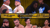 CZW Decisions 2017.04.08 The Rascalz vs. Dub Boys vs. LAX vs. KTB & Monsta Mack