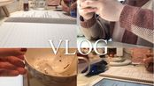 VLOG|高三学生下午晚上的流水账|学校的网课|写题写题写题