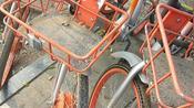 临汾共享单车如此之脏,满是尘土,让人怎么骑