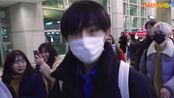 「NCT/威神V」191217仁川机场到达~宝贝辛苦了~好好休息20号再见面~