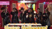 给你一个有下午班南瓜灯的万圣节 看2PM 自己刻自己形象的南瓜灯 131024 Music Japan Halloween + Winter Games