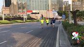 郑州市郑东新区CBD商务内环线上马拉松