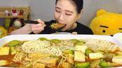 【卡妹】大豆拉面+金针菇