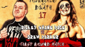 【CZW】2018.06.10 TOD17 优胜决定战: Rickey Shane Page vs. Jimmy Lloyd(灯管铁丝网替换边绳死亡赛)