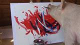"""会画画的猪,动物界的""""毕加索"""",一幅画炒到27000元的天价!"""
