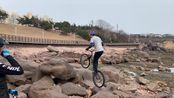 #KunVlog5#2020年3月2日青岛海边攀爬车训练,最近实在难高产,希望疫情早点过去