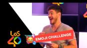 [西班牙Los40]Emoji challenge!西班牙男歌手Cepeda挑战Ana Guerra