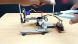 牛人用电脑光驱制作了一个简易打印机,真是太牛了