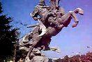 武汉韵城雕塑13971418979 湖南湖北江西南昌长沙安徽合肥河南郑州不锈钢铸铜锻铜雕塑