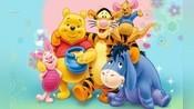 【声优】《小熊维尼》跳跳虎和维尼的配音员居然是同一个人?!(双语)
