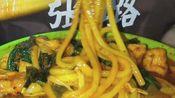 快手土味吃播吃麻辣烫自制腊肠爆头超辣米粉可乐鸡翅猪皮卷