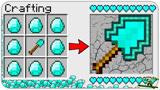 游游解说我的世界,9个钻石合成一个超级钻石锹?