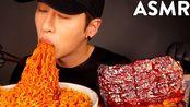 【Zach】吃播 超大碗火鸡面+嫩肋骨+薯条