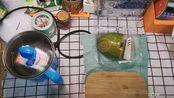【早餐记录】木瓜牛奶/111.6