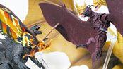 (搬运) 【ぎわちん。】S.H.MonsterArts 拉顿&摩斯拉(哥斯拉2:怪兽之王)