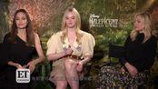 《沉睡魔咒2》三大女神同框,魔女朱莉和王后米歇尔菲佛调侃:只有公主是正常人