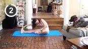 [自用]周六野有氧大腿内侧+增强版+女团腿拉伸+斜方肌拉伸