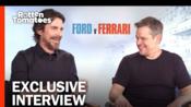 Christian Bale & Matt Damon Talk Epic Races & That Wild Fight in Ford v Ferrari