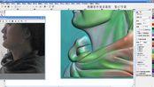 精雕5.5雕刻机衣服浮雕制作教程
