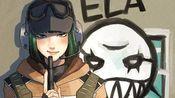 【彩虹六号】把ela冲锋枪打光并五杀是什么体验