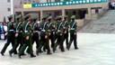 沧州医学高等专科学校2009届校国旗班升旗仪式